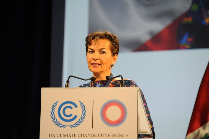 Quote of the Day: UN Climate Chief Christiana Figueres