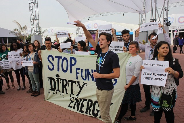 Youth Demand End to Fossil-Fuel Subsidies