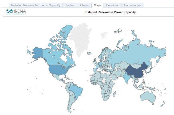 Renewable Energy Capacity Image