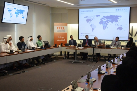 YFEL IRENA Session
