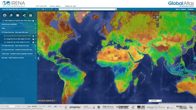 Seeing the Wind with the New Global Wind Atlas