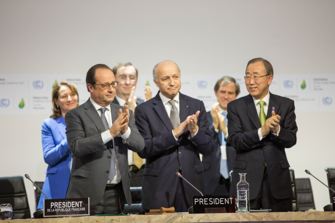 IRENA Welcomes Paris Climate Agreement as 'watershed for the global energy transition'