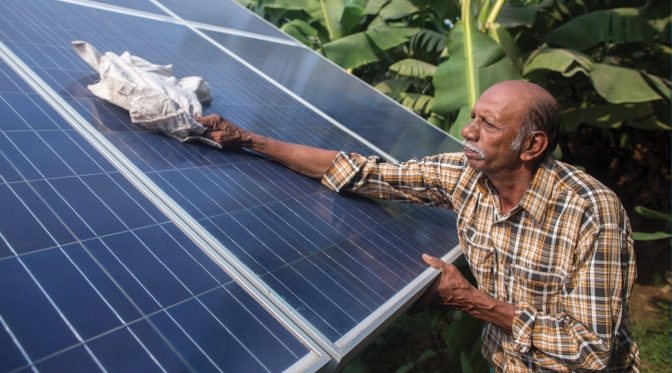 Solar power boosts food production & fights poverty