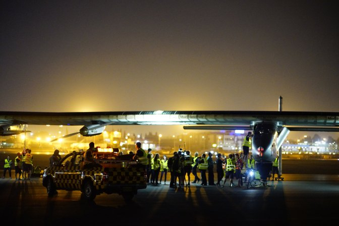 Journey's End: Solar Impulse Lands in Abu Dhabi