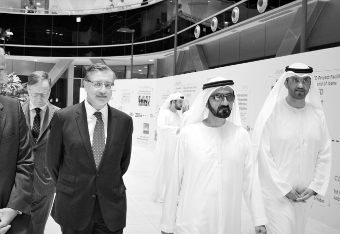 IRENA Director-General Meets with UAE Vice President