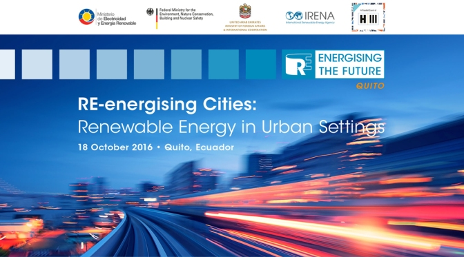 Event: IRENA & Partners Focus on Sustainable Cities