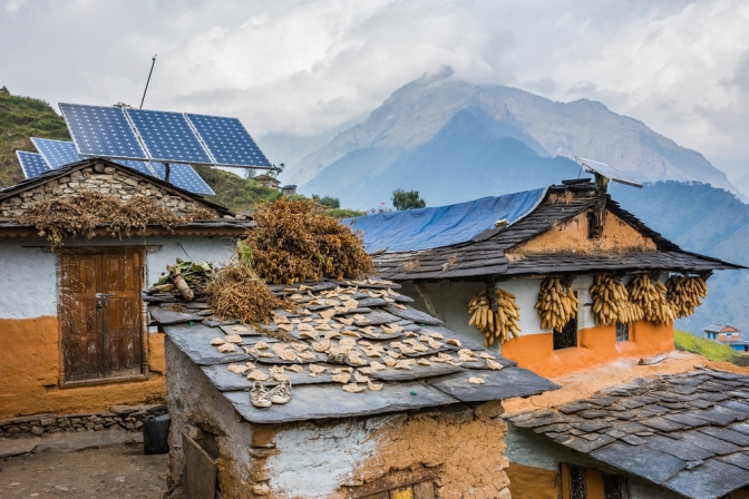 Solving the Energy Access Problem with Renewable Mini-Grids