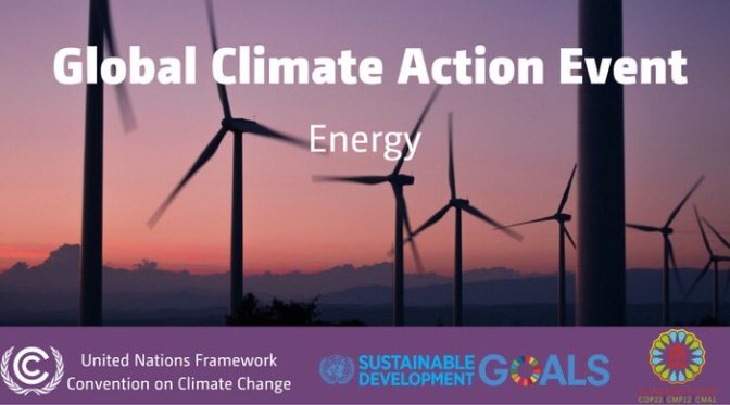 The Transformative Role of Renewable Energy – Energy Day at COP 22
