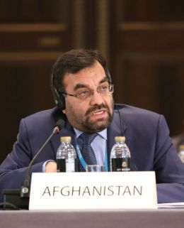 Ali Ahmad Osmani, Afghanistan's Minister of Energy and Water