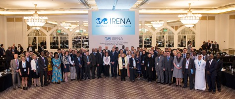 Over 300 delegates representing 110 countries, attended IRENA's 13th Council in Abu Dhabi, United Arab Emirates, 23-24 May 2017.