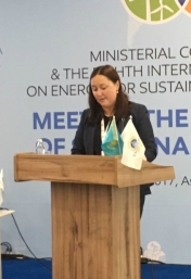 'We welcome a concerted effort to promote renewables and lesson sharing in Central Asia' — Aida Sitdikova, European Bank for Reconstruction and Development