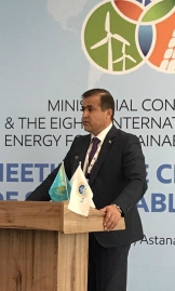 "'I'm glad IRENA is taking the initiative to increase Central Asia renewable energy generation""— Sulton Rakhimzoda, First Deputy Minister of Energy, Tajikistan"